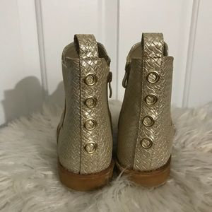 Shoes - Gold booties